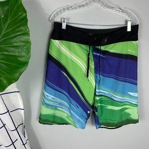 Billabong Platinum Quad Swim Trunks Board Shorts
